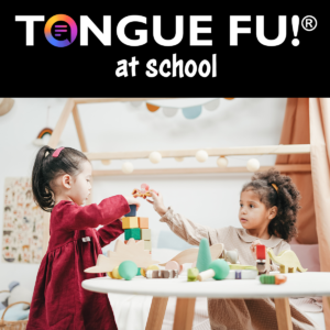 Tongue Fu Keynote - School ages children playing together