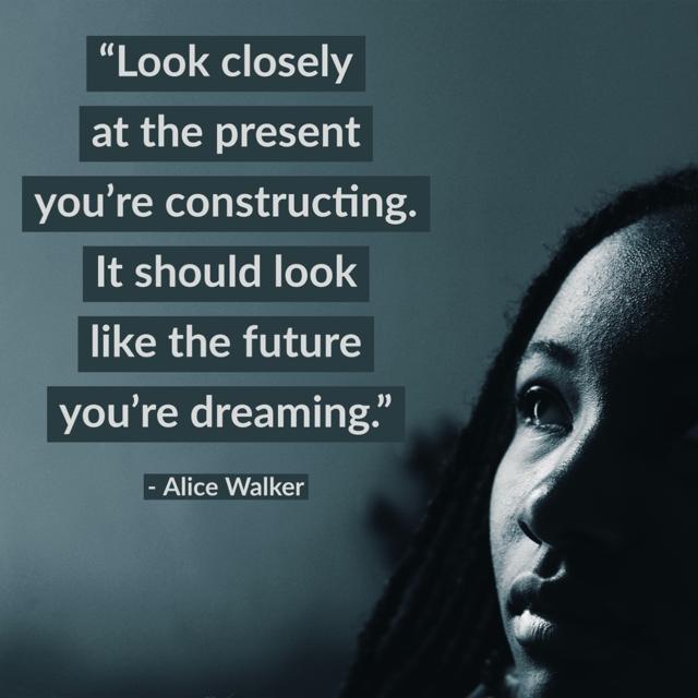 Alice Walker dreaming